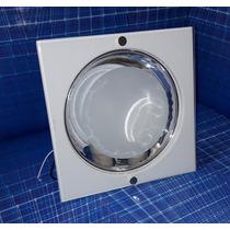 Promoção Plafon Embutir Quadrado Vidro P/ Fluorescente