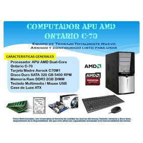 Computadora Dual Core Amd 2.4 Ghz / Dd320gb / 2gb Ram