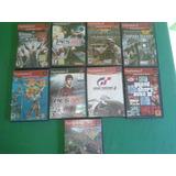 10 Juegos Playstation 2 Y 1 Control