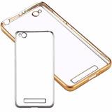 Funda Protector Tpu Xiaomi Redmi 4a Dorado