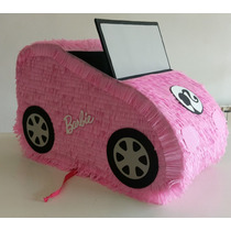 Piñata Auto Barbie