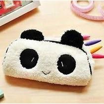 Cartuchera Panda Peluche-- Tienda Jesus Maria