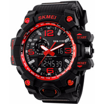 Reloj Shock Tipo Militar Tactico Sumergible Indestructible