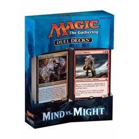 Duel Decks: Mind Vs. Might (em Inglês, Selado, Completo).