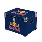 Caixa Térmicas Cooler 30 Litros Em Metal Logo Red Bull