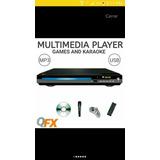 Reproductor De Dvd Con Usb Karaoke Y Video Juegos