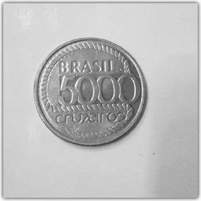 Moeda 5000 Cruzeiros Tiradentes ( 1792 - 1992)