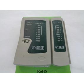 Tester Probador Cable Rj45 Y Cable Telefono Rj11 Al Mayor