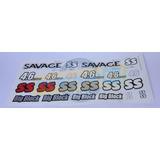 Hpi Racing Adesivo Para Savage X Ss 4.6 Big Block