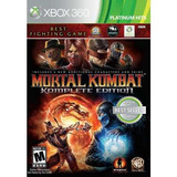 Mortal Kombat 9 Ultimate Edition Xbox 360 Nuevo Sellado