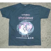 Camiseta Crepusculo Amanhecer Parte I Preta Uci/pepsi