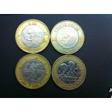 Monedas Conmemorativas De 5 Y 20 Pesos