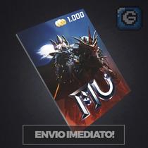 Mu Online 1000 W Coin - E-prepag - Envio Imediato!!