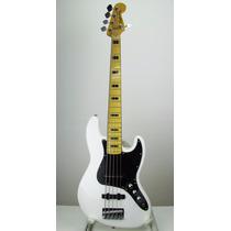 Baixo Fender Squier Vintage Modif 5 Cordas,branco.r$3.230,00