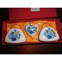 Cofre Pastillero De Porcelana En Forma De Cartera
