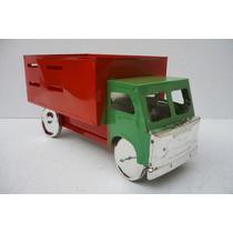 Camion De Redilas - Camioncito De Lamina - Juguete Artesania