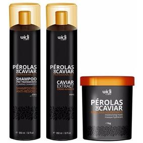Widi Care Pérolas De Caviar Progressiva + Máscara (3 Itens)