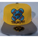 Bone Trukfit Amarelo Skate Sk8 - Pronta Entrega
