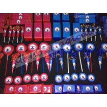 Candy Bar Hombre Araña Spiderman Golosinas 10 Chicos