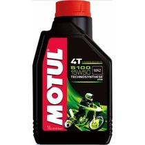 Oleo Motor Motul 5100 15w50 Moto 4t 1l Semi-sintético