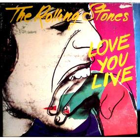 Rolling Stones Love You Live Album 2 Vinilos 1977 Como Nuevo