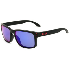 Oakley Holbrook - Óculos De Sol Matte Black/ Positive Red