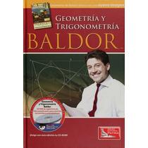 Libro Geometría Y Trigonometría De Baldor C/cd Ed Patria