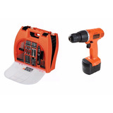 Taladro Atornillador Black Decker 12v Kit 100 Acc Cd121k100
