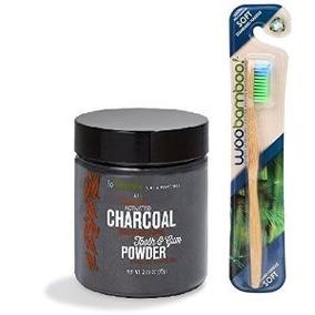 Diente Natural Y Polvo De Las Encías Con Carbón Activado 2,7