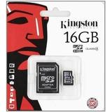 Tarjeta De Memoria 16 Gb Micro Sd Kingston