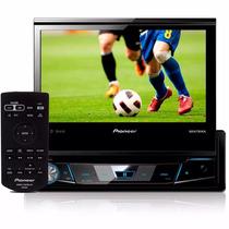 Dvd Pioneer Retratil Avh-x7880tv Tv Digital X7880 + Camera