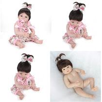 Bebê Reborn Corpo Inteiro Silicone Pronta Entrega Original