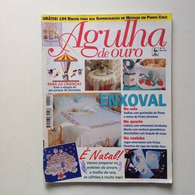 Revista Agulha De Ouro Enxoval Colchas Jogos Americanos N°15