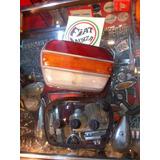 Faro Fiat 1500 Completo Con Gomas Portalampara,base Y Mica
