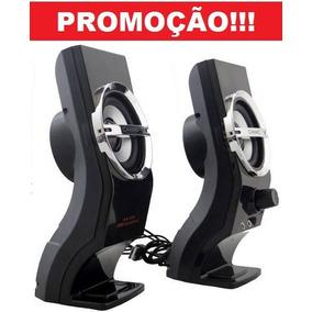 Caixa De Som Potente 500w Portatil Para Mp4 Pc Celular+frete