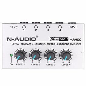 Amplificador De Fones Microamp Ha400 Retorno O3