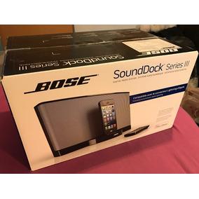 Bose Sound Dock Iii Bocina Para Iphone Conector Lightning