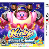 Kirby: Planet Robobot Juegos 3ds Delivery