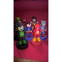 Super Héroes En Porcelana Fria Muñecos
