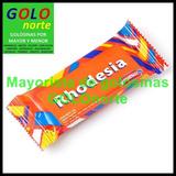 12 Unid Oblea Rhodesia Baño Chocolate Vianda Colegio Niños