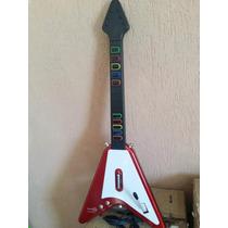 Guitarra Para Ps2 10 Botões Guitar Hero Rock Band Novo C Fio