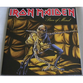 Iron Maiden Piece Of Mind Lp Selado Made In England 2014
