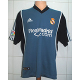Camiseta Real Madrid, 2001 - 2002, adidas, Talla M