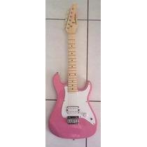 Guitarra Infantil Junior Condor Rosa Colorida St1 Pk Pink