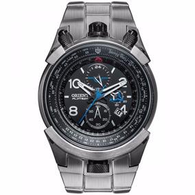 Relógio Orient Mbttc008 Flytech Titânio - Super Promoção