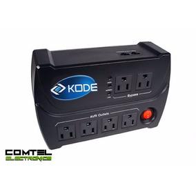 Regulador De Voltaje Kode De 6 Tomas Avr-1006 - 1000va