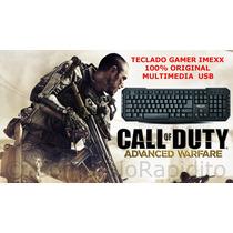 Teclado Gamer Usb Pc Multimedia Gamers Gaming Computadoras