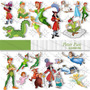 Kit Imprimible Pack Imagenes Cliparts Peter Tinker Bell Png