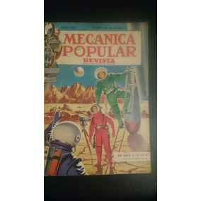Revista Antigua Mecánica Popular Julio 1950