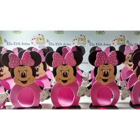 Festa Da Minnie Rosa Porta Bombom Kit C/20 Unidades